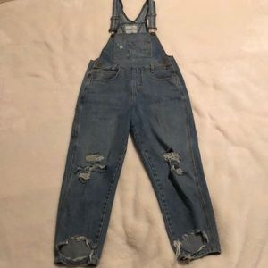 Carmar Distressed Overalls